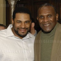 Harry and Jerome Bettis