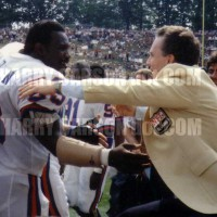 Harry Congratulates Roger Staubach