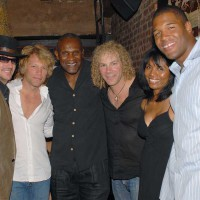 Harry, Strahan and Bon Jovi