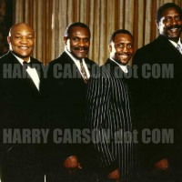 George Foreman, Harry, Thomas Hearns and NBA great Spencer Haywood